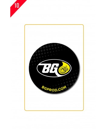 """ORIGIN'L FABRIC 8"""" ROUND ANTIMICROBIAL MOUSE PAD P3-0045"""