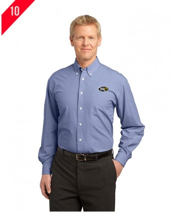 Port Authority® Plaid Pattern Easy Care Shirt.