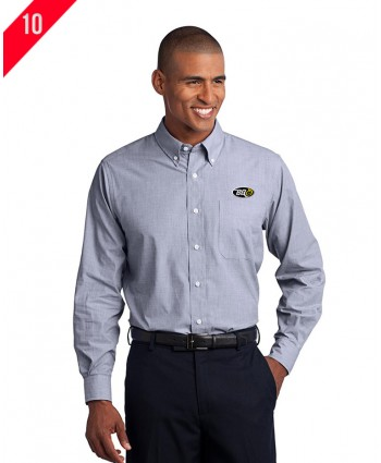 Port Authority® Crosshatch Easy Care Shirt.