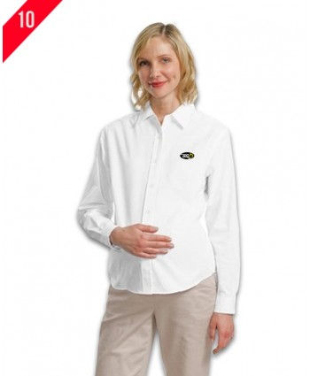 Ladies L/S Maternity easy care shirt