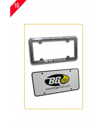 LICENSE PLATE FRAME & PLASTIC LICENSE PLATE P3-0050