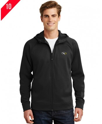 A4-0005 Fleece Full-Zip Hooded Jacket